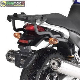 Portapacco Yamaha BT1100 Bulldog (02-09) KZ350 con piastra monokey