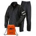 Completo unisex giacca e pantaloni antipioggia  SK100_Dry taglia L