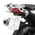 Attacco in alluminio per bauletto posteriore per BMW F800R (09-13)