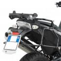 Piastra posteriore monokey per BMW F650GS/ F800GS(08-13)Kappa/Givi