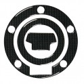 Adesivo Carbon Look tappo serbatoio Yamaha, art. 90004