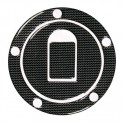 Adesivo Carbon Look tappo serbatoio Kawasaki-Suzuki
