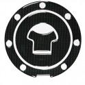 Adesivo Carbon Look tappo serbatoio Honda, art. 90005