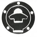 Adesivo Carbon Look tappo serbatoio Ducati, art. 90007
