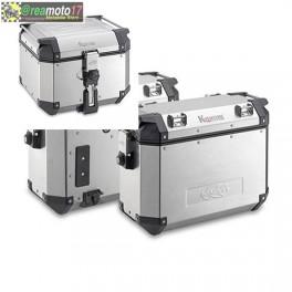 K-venture alluminio, Bauletto(42) e valige laterali(37)