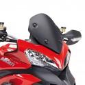 Cupolino per Ducati Multistrada 1200 (13) basso nero Kappa