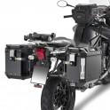 Triumph Tiger Explorer 1200(12-13) Portavaligie laterale per bauletti GIVI Trekker Outback